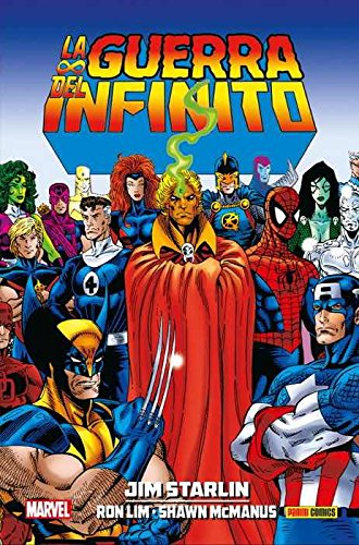 La guerra del infinito 7 (JIM STARLIN)