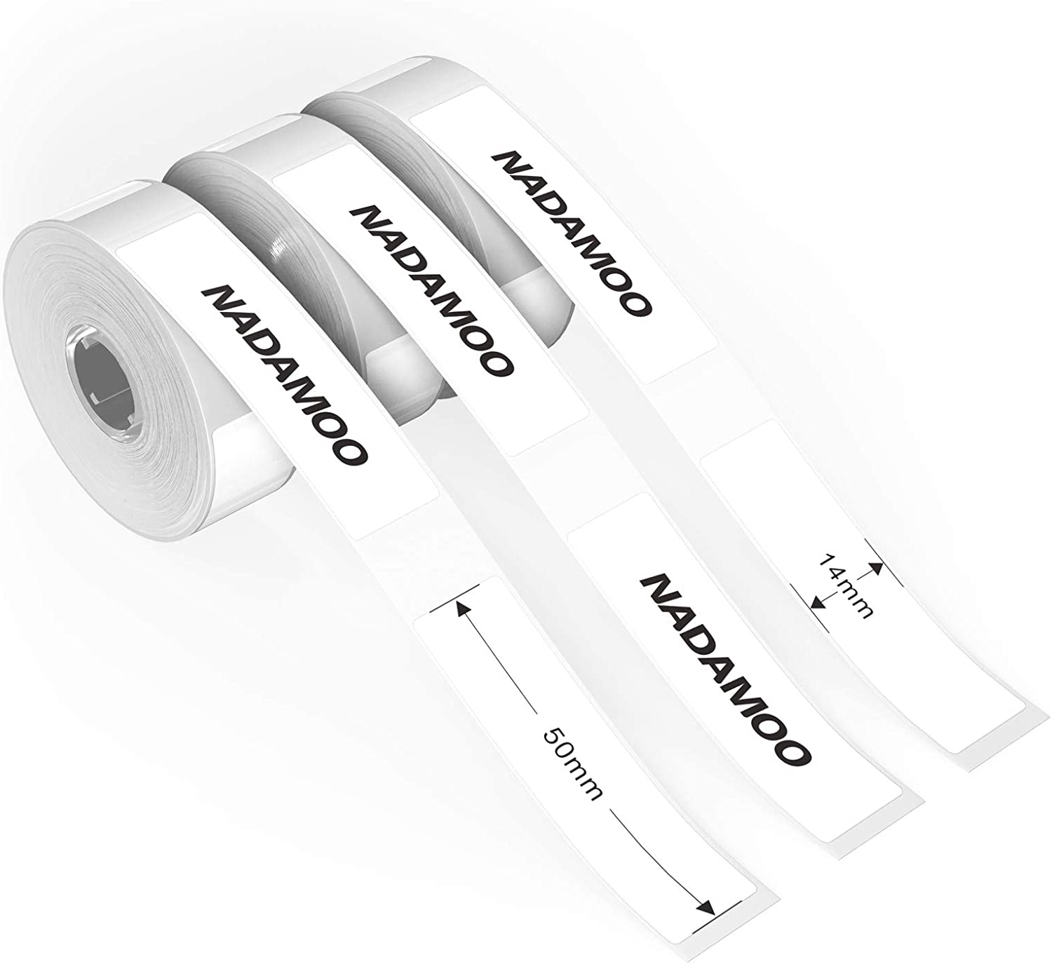 NADAMOO Opening large release sale Thermal Printing Paper Tape 14X50mm 0.55