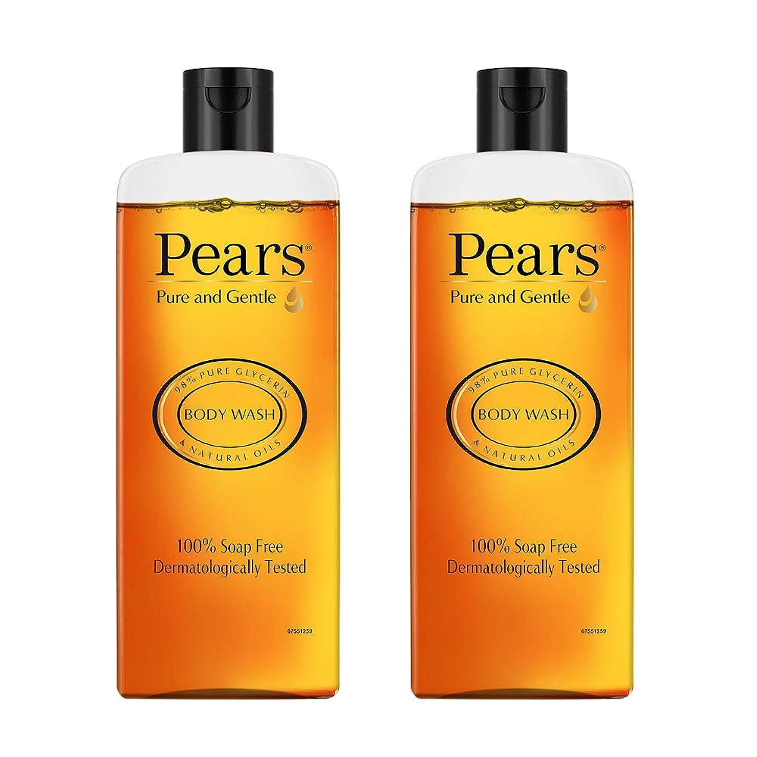 カーフ反乱トークンPears Pure And Gentle Body Wash, 250ml (Pack Of 2)