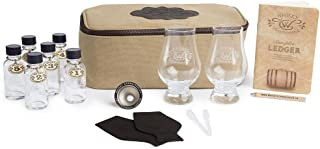 Whisky Connoisseur Canvas Whisky Travel Kit. Never Leave A Good Whisky Behind.