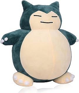 Snorlax Plush Toy 12 inches, Pokemon Plush Animal Collection Toy, All-Star Series Plush Pillow Birthday Gift