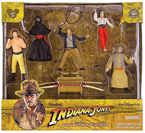 Disney Parks Indiana Jones - Raiders of The Lost Ark - Cake Topper or Playset