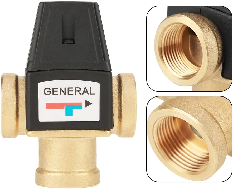 Oumefar DN20 Mixing Over item handling ☆ Valve Household Temperature Popular products Th Control