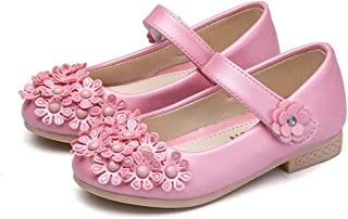 tomik Baby Girls Leather Shoes Princess Mary Jane Shoes Children Casual Shoes Kids Low Heeled Dance Shoes