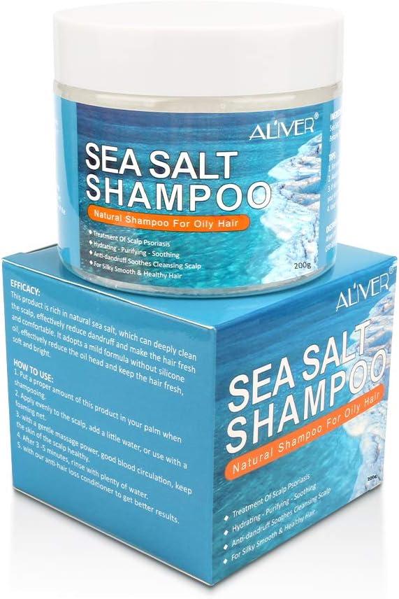 184 opinioni per Sea Salt Shampoo, Anti-Dandruff Shampoo, Psoriasis Shampoo, Sea Salt Hair