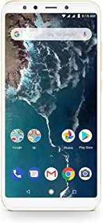 Xioami Mi A2 Dual SIM 64GB 4GB RAM 4G LTE - Global Version - Gold