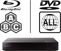 SONY BDP-S3700 Lecteur Multi Zone Region Code Free Blu Ray WI-FI – DVD – CD..