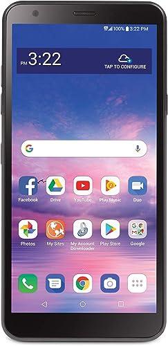 Total Wireless LG Journey 4G LTE Prepaid Smartphone (Locked) - Black - 16GB - Sim Card Included - CDMA