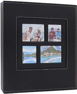 AXEARTE Photo Album 4x6, 600 Family Photo Album Book, Extra Large Capacity PU Leather Cover Sewn Bonded Wedding Baby Kids ...
