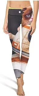 Womens Outfits Legging Grumpy Cat Laser Yoga Pants Fashion Dance Leggings
