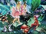 Ceaco Fairy ELF & Mice Puzzle (100 Piece)