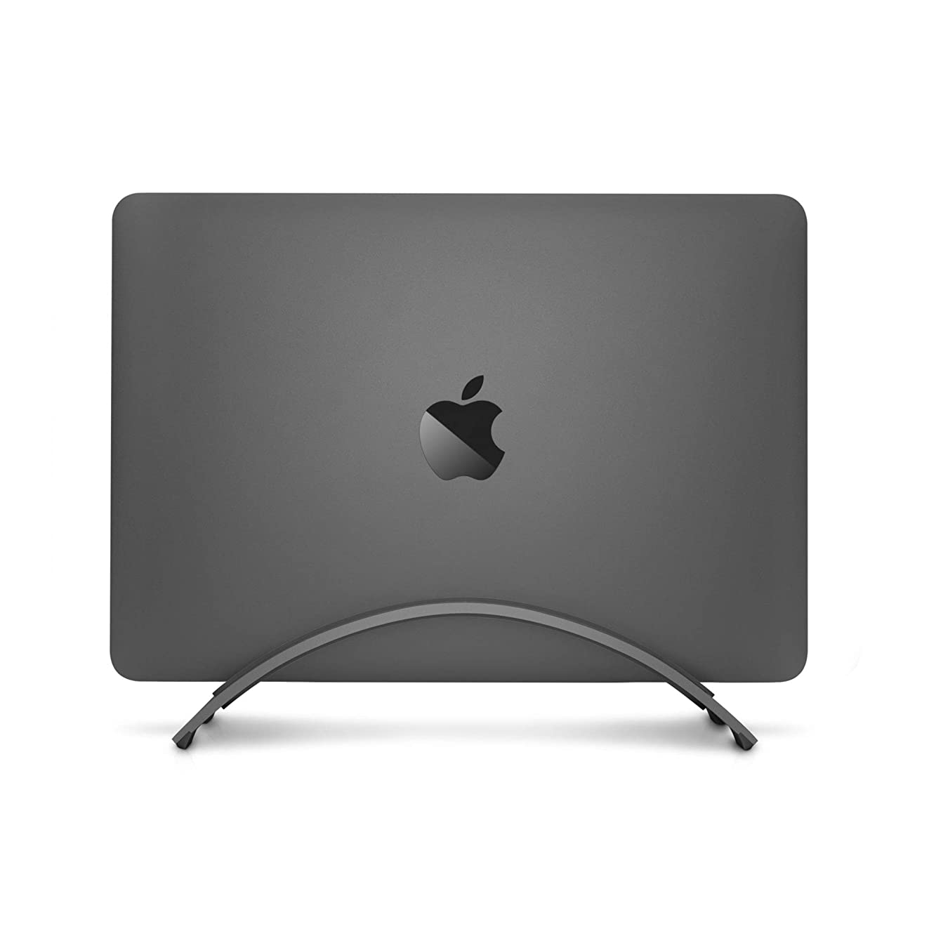 Twelve South Bookarc for MacBook   Space-Saving Vertical Desktop Stand for Apple Notebooks (Space Grey)