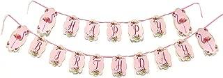 flamingo birthday banner