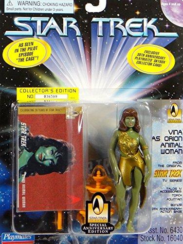 Vina Orion Slave aus Episode The Cage - Actionfigur - Star Trek Classic TV Serie von Playmates