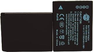 DSTE® アクセサリ Panasonic DMW-BCH7E 互換 カメラ バッテリー 2個 対応機種 Lumix DMC-FP1 DMC-FP2 DMC-FP3 DMC-FT10 DMC-TS10 [並行輸入品]