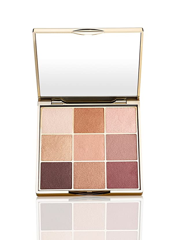 パトロール転用防衛Tarte make magic happen eyeshadow palette 9色パレット