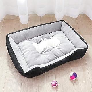 Nfudishpu Soft Black Kennel pet mat Small Medium Dog Large Dog Supplies Bed Dog House cat Litter 5kg