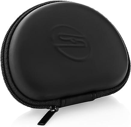 deleyCON SOUNDSTERS MK1122 Funda Universal para Auriculares - Caja de Auriculares - Protección para Viajes - Adaptable a Muchísimos Auriculares - Negro