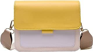 XiaJ Elegant 2019 Fashion Women Shoulder Bag Handbag Pu Leather Girls Small Square Messenger Bag