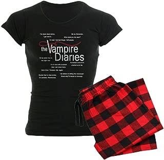 Vampire Diaries Quotes Women's Dark Women's PJs