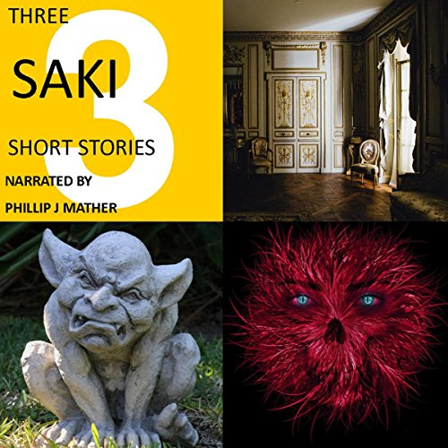 Three Saki Short Stories audiobook cover art