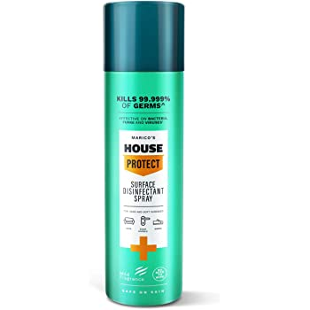 Marico's House Protect Disinfectant Surface Cleaner Spray Kills 99.999% of germs - 200 ml