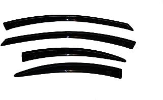Auto Ventshade 94317 Original Ventvisor Side Window Deflector Dark Smoke, 4-Piece Set for 2000-2005 Dodge Neon, 2000-2001 Plymouth Neon