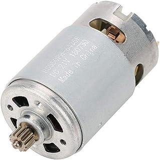 Motor industrial de dos velocidades con engranaje de 12 dientes Motor de corriente continua para accesorios