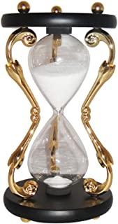 VStoy Fashion Hourglass 30 Minutes Sand Timer-Gold