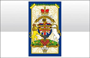 Elgate H.R.H. Prince Harry & Meghan Markle Royal Wedding 19th May 2018 Commemorative Cotton Crest Tea Towel