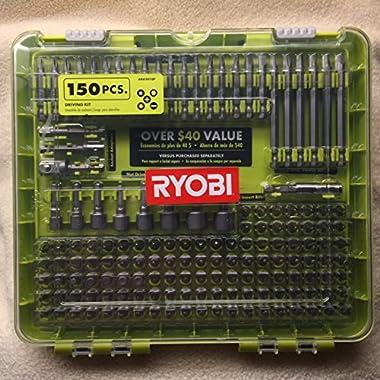 RYOBI Drill driver bit set - 150 pcs