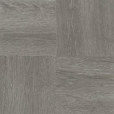 "Achim Home Furnishings FTVWD22920 Nexus Self Adhesive 20 Vinyl Floor Tiles, 12"" x 12"", Charcoal Grey Wood, Piece"