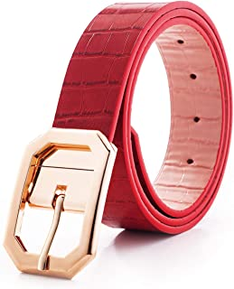 5866ad032fff Reversible Leather Belts for Women with 1.25