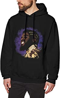 BHBHCOCO Men's Big Krit Solid Color Casual Sports Hoodie Sweatshirt