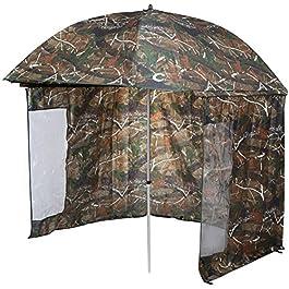 VTK Fishing – Parapluie-Tente de Pêche Camo 250 – Shelter Oxford – Aluminium – Superior