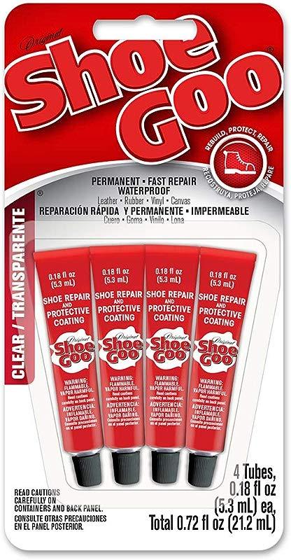 Shoe Goo 5510110 Mini Adhesive 4 Pack 0 18 Fl Oz