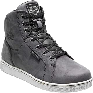Men's Midland Black or Grey WP Motorcycle Boots D96165 D96166