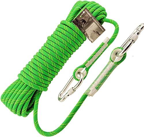 HW Ropes Corde d'escalade extérieure, Corde de sécurité de 10,5 mm, Corde de Rappel, Corde d'escalade, équipement d'évacuation de Corde de Nylon, 80m   70m   60m   50m   40m   30m   20m   10m
