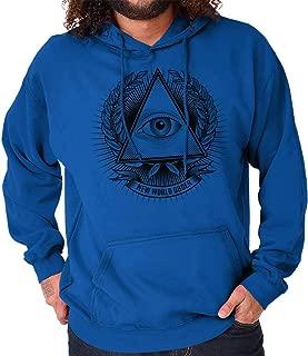 Illuminati Freemason Providence Triangle Hoodie