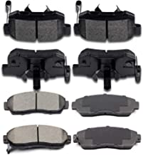 Ceramic Discs Brake Pads, SCITOO Front Rear Brake Pads fit for 2010-2012 Acura RDX 2007-2011 Honda CR-V