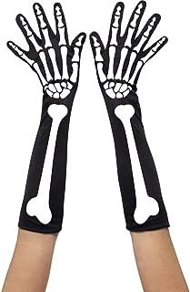 Smiffy's Skeleton Gloves Female Costume