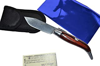Couteau Celaya Classic Albacete Aluminium Pastora Bois Rouge n 2