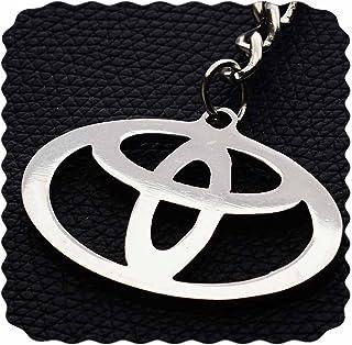 ميدالية من الفولاذ المقاوم للصدأ بشعار السيارة تويوتا