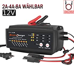 Batería de automóvil de 12 V Cargador de goteo 2/4 / 8A 7