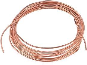 Sourcingmap a13082900ux0658-4 metros de refrigeración de cobre ronda de bobinas de cable de alambre