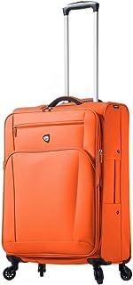 حقيبة الأمتعة الدوارة أريا سوفت سايد مقاس 60.96 سم من ميا تورو إيطاليا, , تانجرين - M1120-24in-TAN