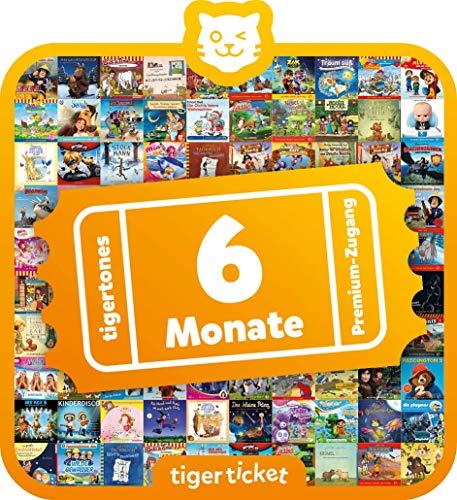 Tiger Media Deutschland 4203 6 Monate tigertones Premium-Zugang