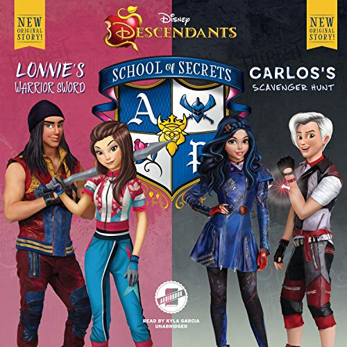 Disney Descendants: School of Secrets: Books 4 & 5 audiobook cover art