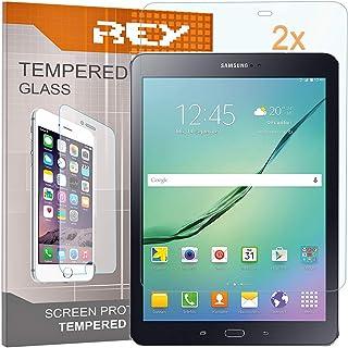 Pack 2X Panzerglas Schutzfolie für Samsung Galaxy TAB S2 9,7', Displayschutzfolie 9H+ Härte, Anti Kratzen, Anti Öl, Anti Bläschen
