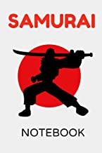 Samurai Notebook: Daily Journal Blank Lined paper Perfect Gift for Samurai Warrior Girls, Kids, Students, and Warrior Japa...